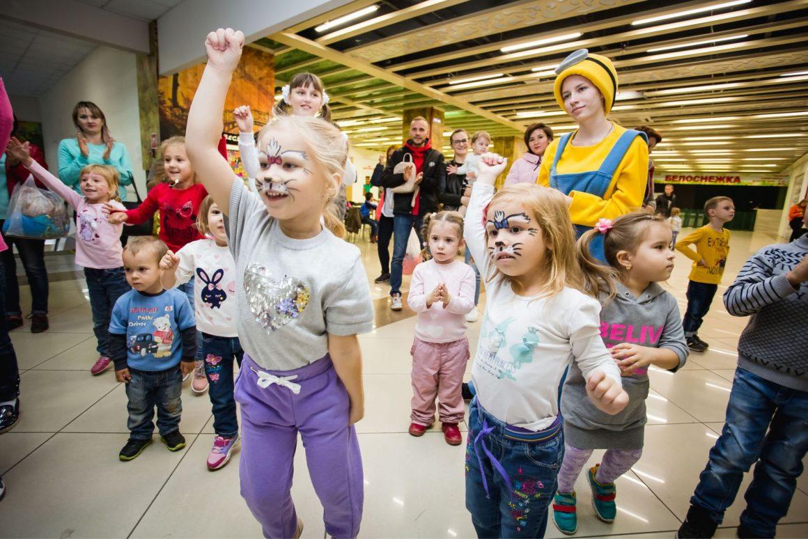 Семейный праздник в ТРЦ Новый мир